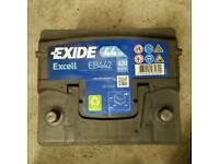 EB442 Exide Battery 44Ah 420CCA W063SE Type 063