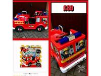 Fireman Sam Ride in Jupiter electric fire engine