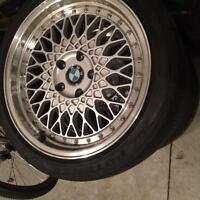 Bridgestone Potenza Sport Tires staggered 18 with BBS rep rims