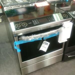 New GE 5.3 cu ft slide in smart induction range oven PCHS920SM1SS