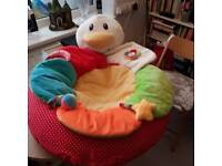 Baby nest, inflatable