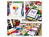Rainbow Buttons Craft Parties...