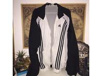 adidas track jacket - size L