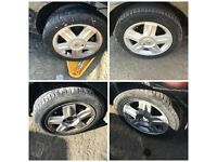 "Renault clio 185-55-15"" Alloy Wheels and Tyres Set of Four"