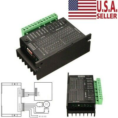 Tb6600 4a Stepper Motor Driver Controller Ttl 16 Micro-step Cnc 1 Axis 940v