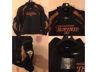 Motorcycle textile suit for sale.