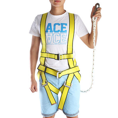Boom Lift (Boom Lift Construction Fall Protection Full Body Comfort Safety Harness)