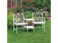 Garden Love Seat save over 50 % on rrp