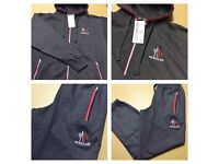 Brand New With Tags Men's Moncler Tracksuit Charcoal £30