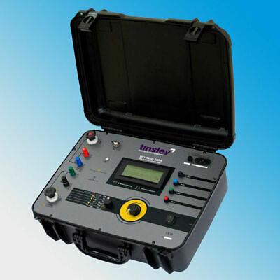 Tinsley Mo-5898-200a Portable Precision Micro-ohmmeter 200 Amps 200 Dlro