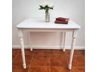 Pine Table - White and Grey Shabby Chic for Dining/Occasional