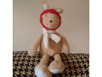 Found Bunny-Teddybear