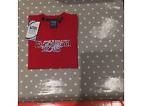 BRAND NEW Rugby World Cup Red England T Shirt , Age 10 years