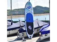 Costway UK Goplus Inflatable Standup Paddle SUP Board with Fin