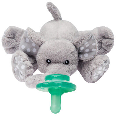 "BRAND NEW!! Nookums Paci-Plushies Buddies - ""Ella Elephant"" Pacifier Holder!!!"