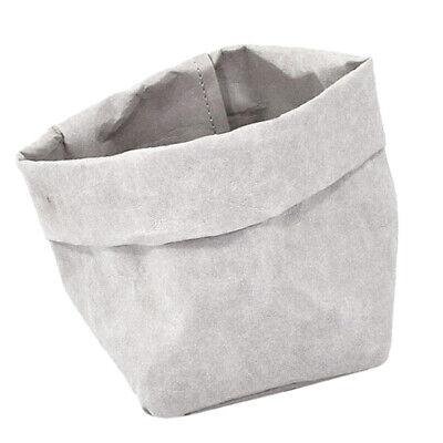 Waschbarer Kraftpapier-Aufbewahrungsbeutel Sukkulenten-Blumentopf 8x8x15cm