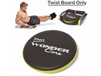 Smart WonderCore Twist Board 7496 Fitness Body Exercise Ab Workout Training........Brand New