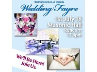 Wedding Fayre 1st July Free Entry