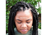 Hair Braiding (Afro, Euro, Mix-raced) + **Tues/Wed 10% Off** Clapham Junction,