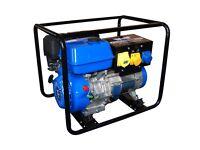 Ex Demo Wolf 5000w 13HP 4 Stroke Petrol Generator Portable