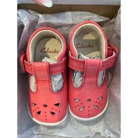 BNWB baby Clark's shoes