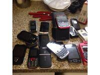 Job lot of mobiles