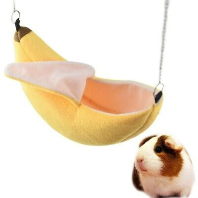 Banana Hamster House Bed Small Animal Warm Cage Nest Hamster Accessories