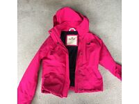 Hollister rain jacket new small