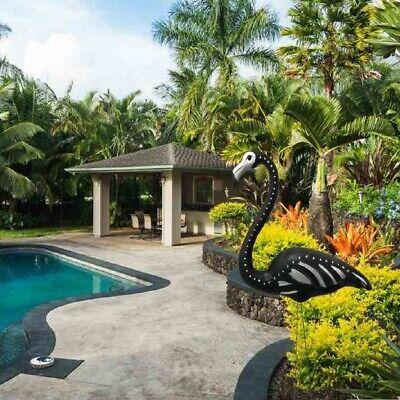 2 NEW Flamingo Skelemingos Halloween Outdoor Yard Decorations Skeleton (Skeleton Flamingos)