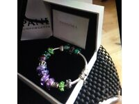 NEW PANDORA BRACELET WITH PANDORA CHARMS