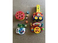 6x Kids toys