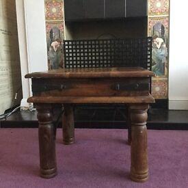 £10 small hardwood table