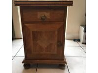 Two Antique Bedside Cabinets