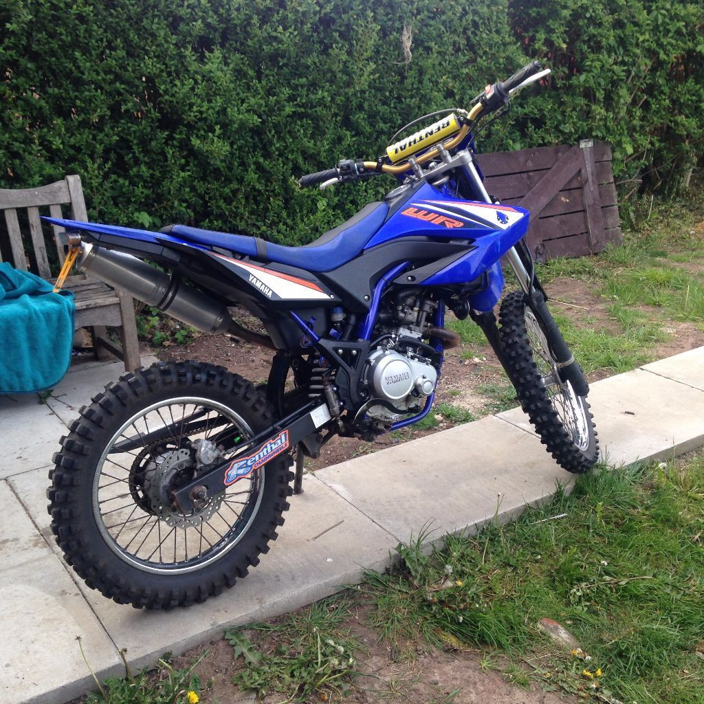 2011 yamaha wr 125 r blue 180cc in middlesbrough north yorkshire gumtree. Black Bedroom Furniture Sets. Home Design Ideas