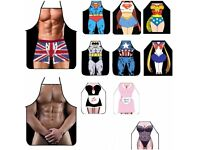 Funny novelty aprons