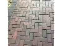 Block pavers for sale approx 1100..£120