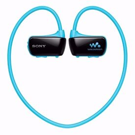 *NEW* SONY NWZ-W273S 4GB Waterproof Walkman Sports Swimming MP3 Player (Blue)