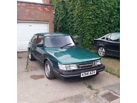 1993 Classic Saab 900se turbo for sale