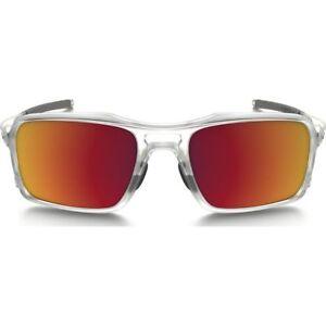 c0da0fe281 Oakley Triggerman 9266-07 Matte Clear   Torch Iridium 59mm Sunglasses