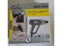 Earlex Heat Gun - 1500W - 2 heat settings