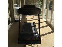 JTX treadmill, 24 different programs, heart rate control.