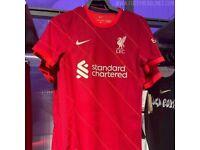 New Liverpool football shirt 21/22