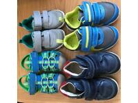 Toddler Boys Clarke's Shoes- various sizes