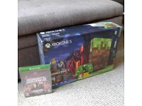 Xbox One Minecraft Limited Edition 1Tb brand new sealed +extra game
