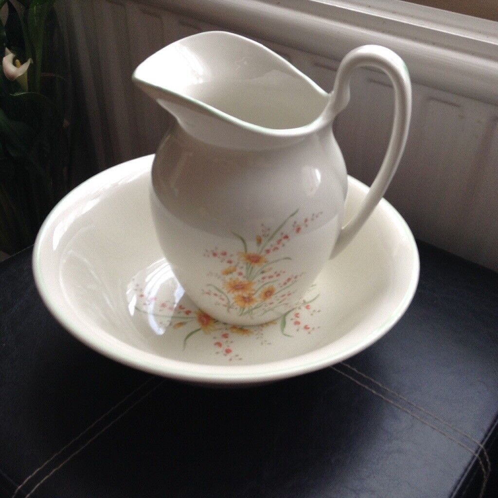 A Dressing Table Water and Jug Set