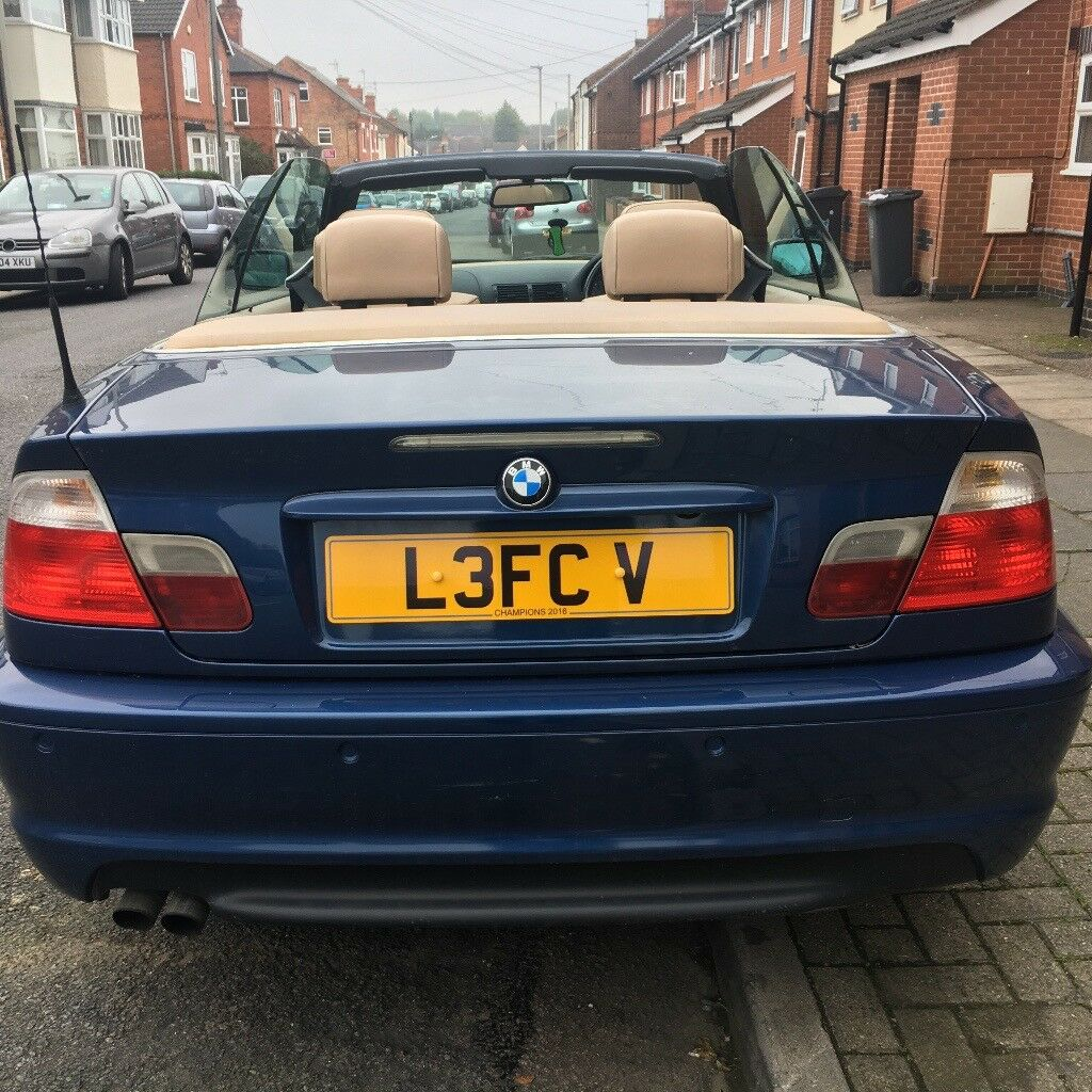 bmw 325ci soft top in leicester leicestershire gumtree. Black Bedroom Furniture Sets. Home Design Ideas