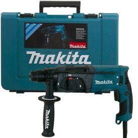 New Makita 240v SDS Plus Rotary Hammer Drill, HR2470