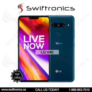 Brand New LG V40 Factory Unlocked Dual Sim
