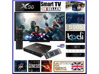 ANDROID TV BOX ✔️X96 4K✔️MARSHMALLOW6.0✔️LOADED KODI ✔️MOVIES HD TV✔️KIDS✔️MOBDRO✔️SPORTS