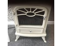 Electric log burner stove, used for sale  Eaglescliffe, County Durham